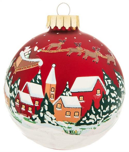 Santas-route-ornament