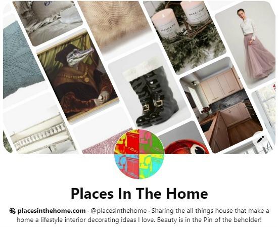 Pinterest board page