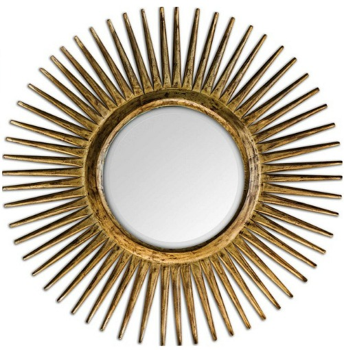 Uttermost 5032 Destello Starburst Rounded Mirror