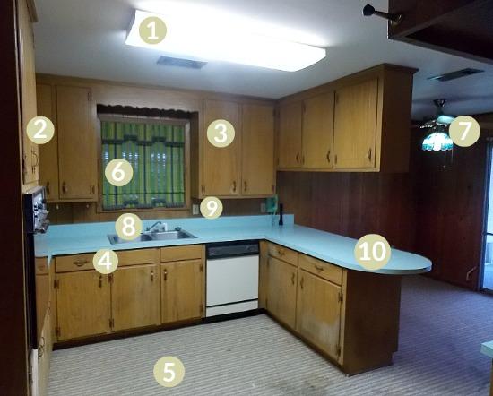 flip house kitchen remodel update
