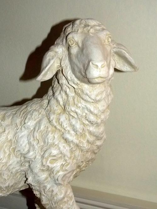 lamb statue