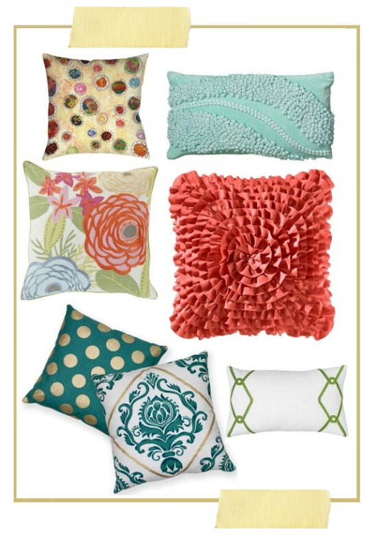 spring home decor accessories