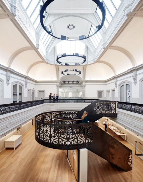 Hudson Architects, Boardman House, NUA, Norwich University of the Arts Architectural School, Norwich, Norfolk, UK, Winter 2016 Photographer Joakim Borén,