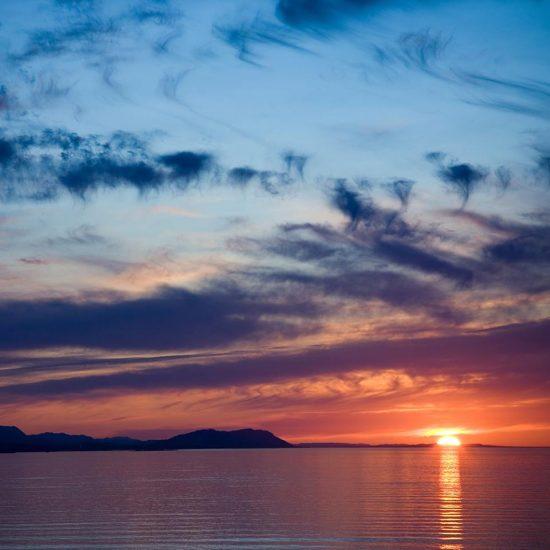Strait of Juan de Fuca, Sequim, Washington