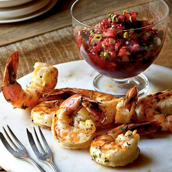 grilled-shrimp-with-cranberry-salsa