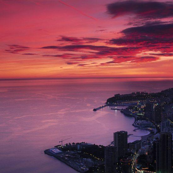 coastal sunrise sunset