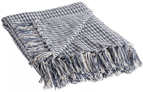 Houndstooth Throw - Design Imports