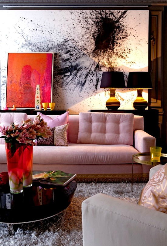pink-black-decor