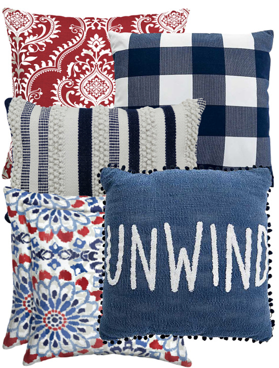 red-white-blue-outdoor-throw-pillows
