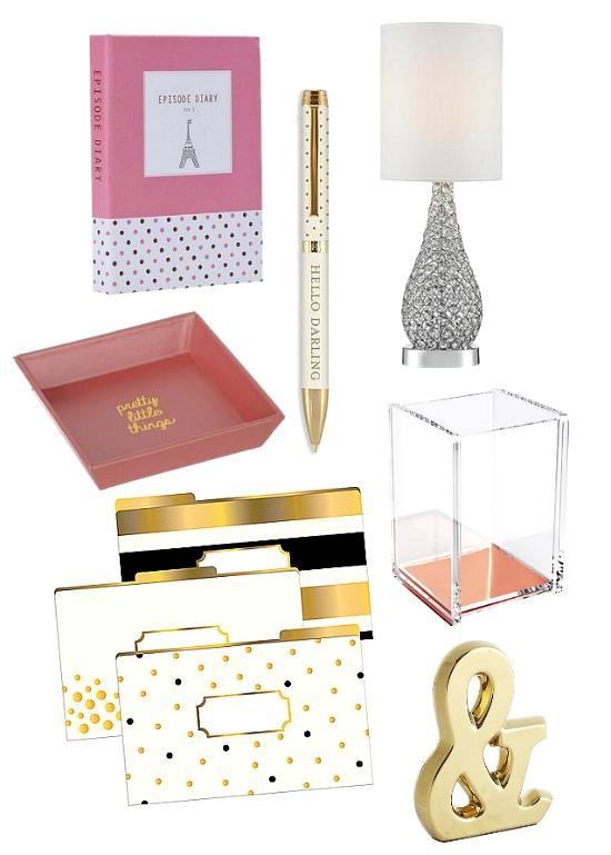 dorm room desk accessories