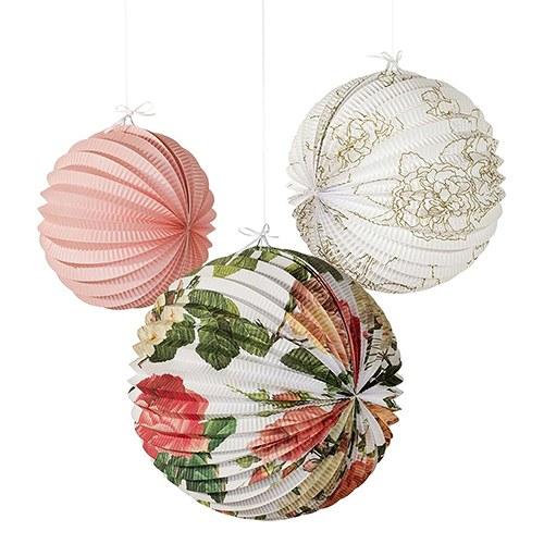 floral-paper-lanterns