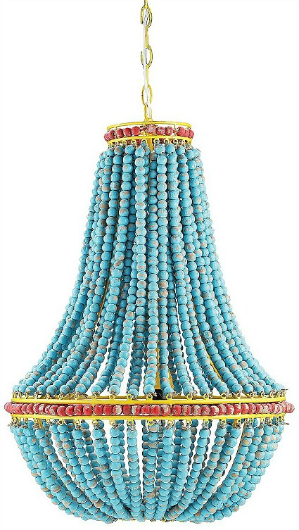 blue-beaded-chandelier