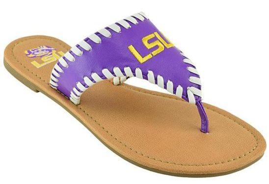 lsu-sandals