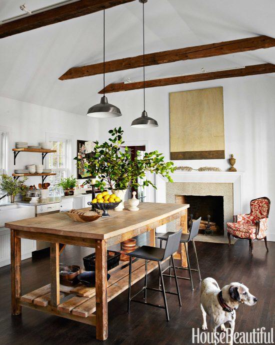 reclaimed-wood-kitchen-island