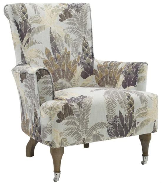 Garden Abstract Leaf Arm Chair
