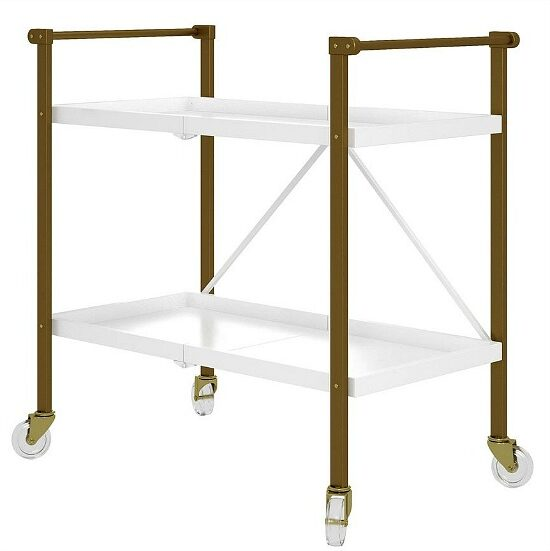 CosmoLiving by Cosmopolitan Trevia Folding Cart