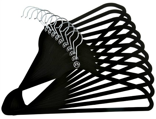 Joy Mangano Huggable Hangers® 10-Pack Shirt Hangers