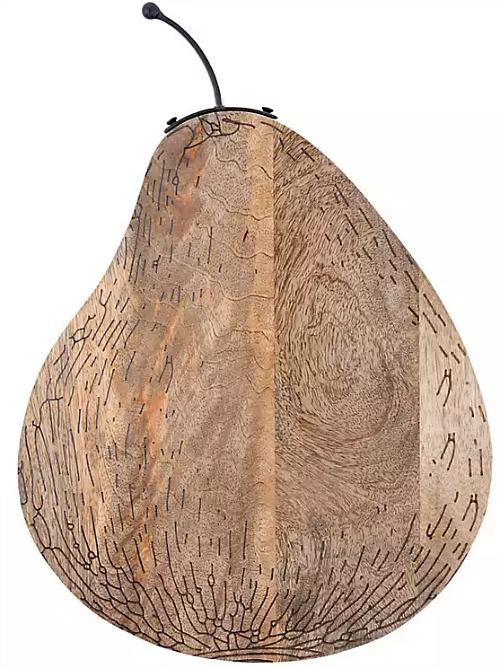 Pear Shaped Mango Wood Cutting Board