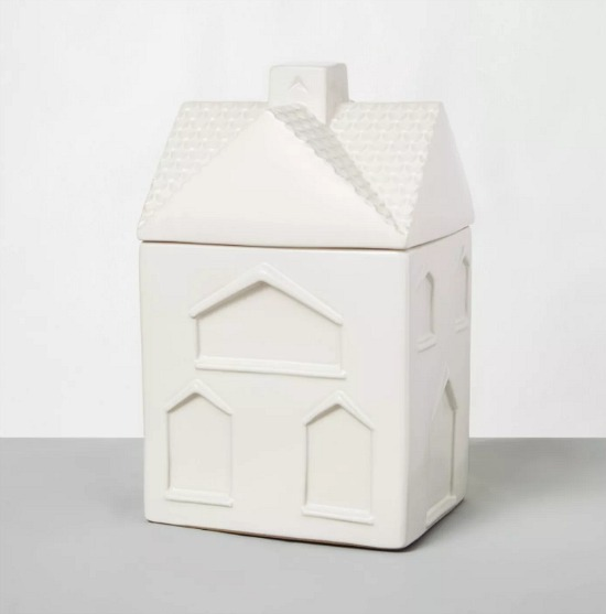 Stoneware House Cookie Jar Sour Cream - Hearth & Hand& with Magnolia