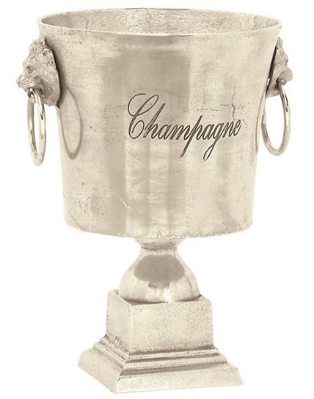 Traditional Aluminum Bucket Wine Cooler