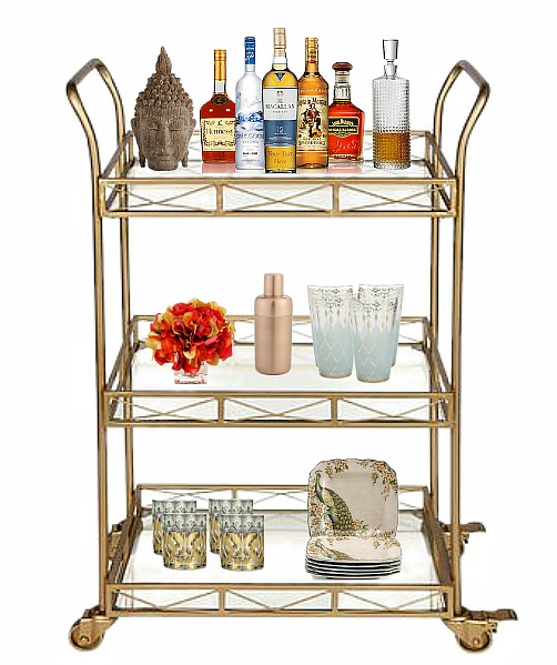 gold-bar-cart-styled