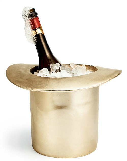 gold-top-hat-ice-bucket