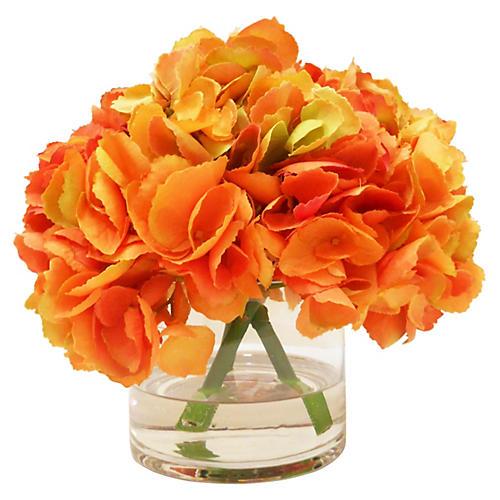 hydrangea-in-vase