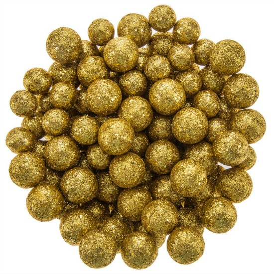 Gold Glitter Ball Confetti