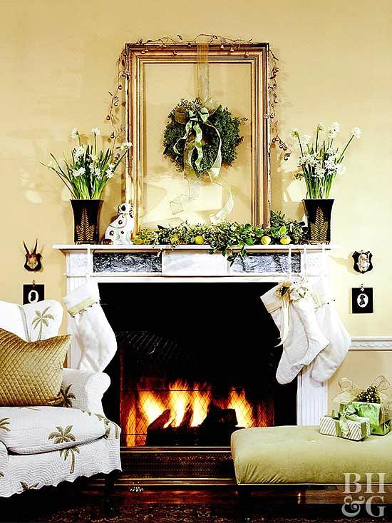 green-christmas-decor-traditional