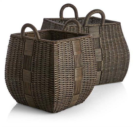 Auburn square basket