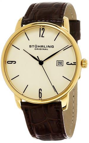 Stuhrling-Original-Mens-Ascot-Quartz-Leather-Strap-Watch