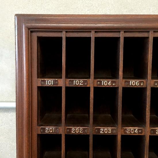 hotel front desk key holder