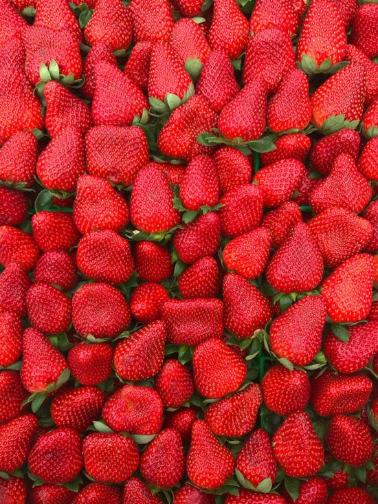 Poncahtoula strawberries