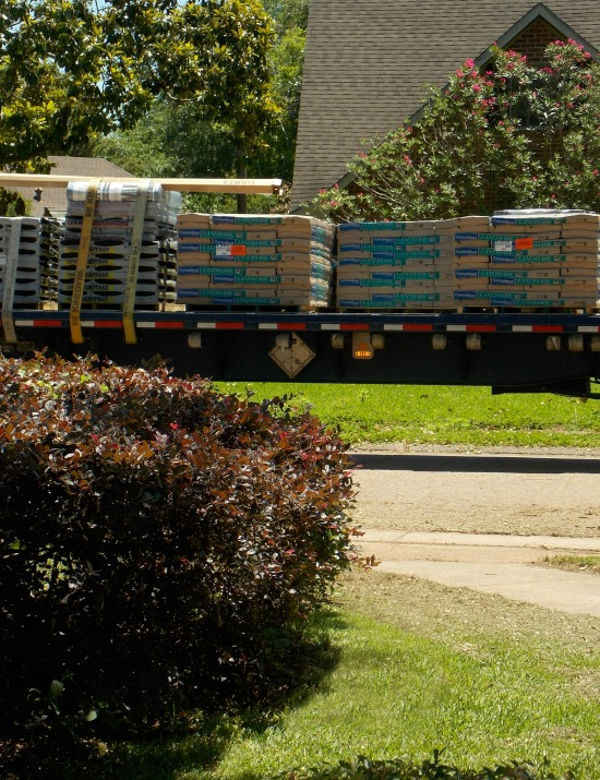 roofing shingles delivery