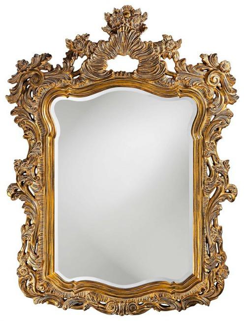 Cilegon Gold Framed Wall Mirror
