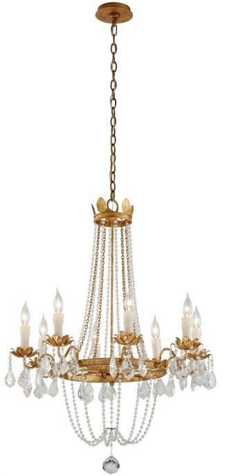 Lucrezia 8-Light Candle Style Empire Chandelier