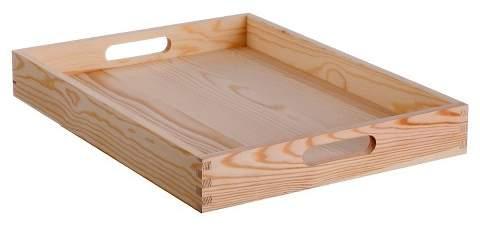 Hand Made Modern Small Wood Tray