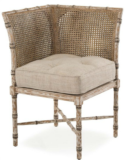 French+Linen+Side+Chair