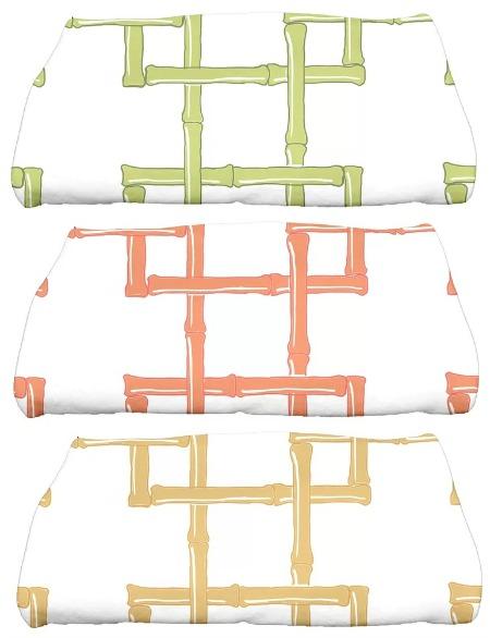 Sigsbee Bamboo Print Bath Towel
