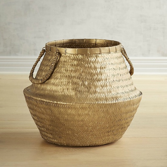 gold-rattan-basket