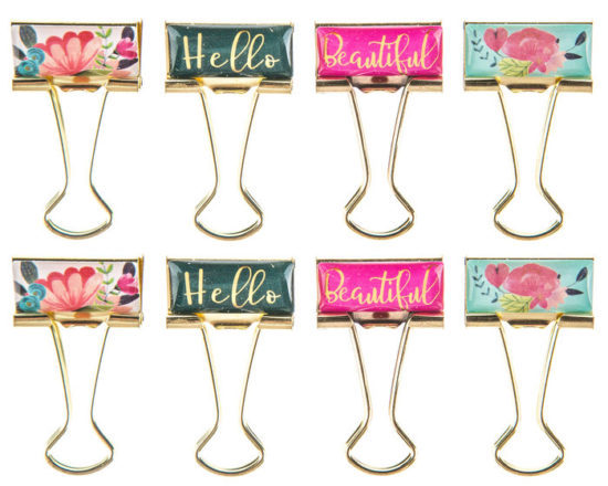 floral-words-binder-clips