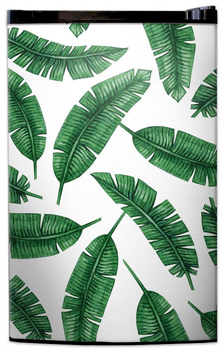 Banana Leaf Print Fridge Skin