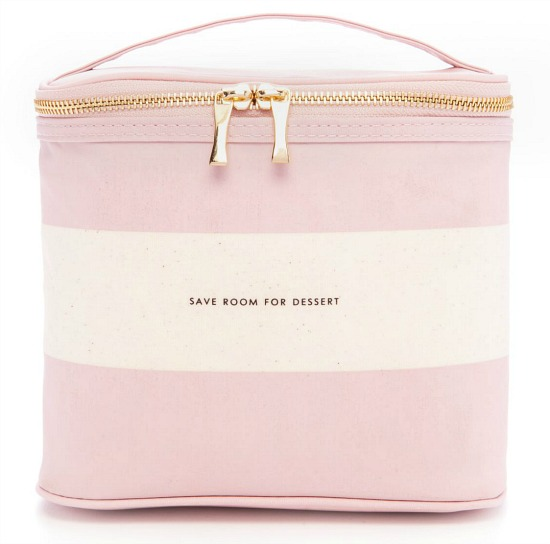 kate spade new york® kate spade new york® Blush Rugby Stripe Lunch Tote