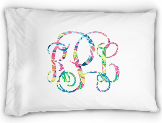 monogram-pillowcase