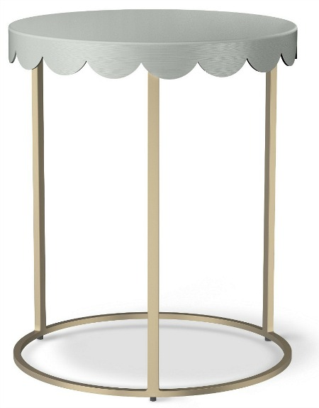 Scallop Kids Accent Table