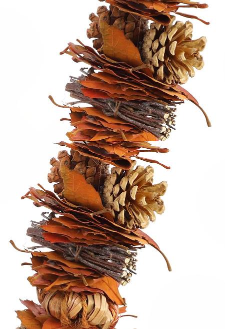 6ft. Pumpkin, Pinecone & Leaf Garland by Ashland®