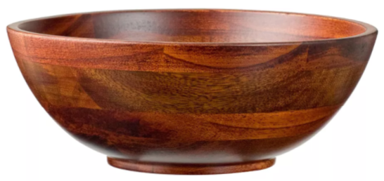 Bowl 6oz 4pk Set - Cherry Wood