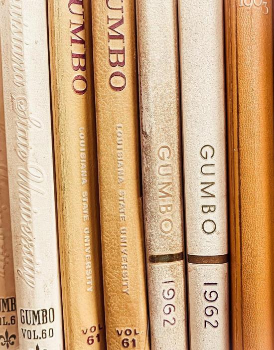LSU-Gumbo-yearbooks