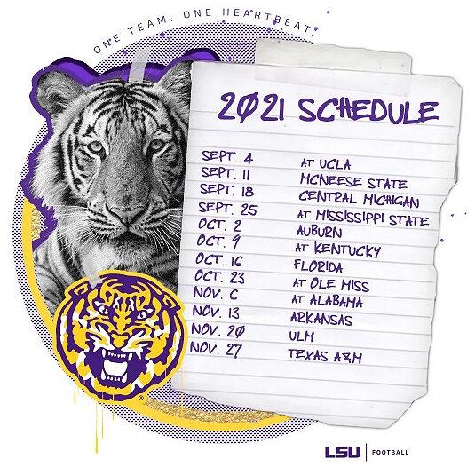 LSU-football-2021-schedule