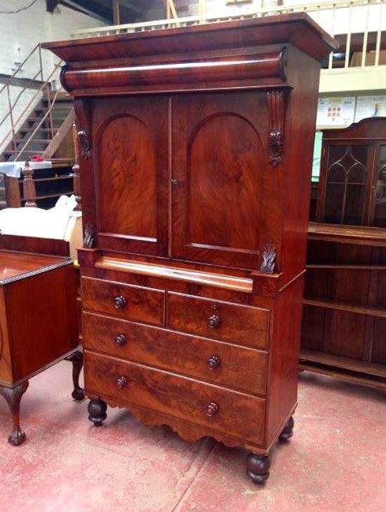 antique-linen-press